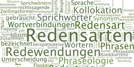Sprichwörter, Redensarten und Redewendungen